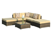 PAS-1206/Popular Weather Resistant Synthetic Outdoor Furniture Rattan Sofa
