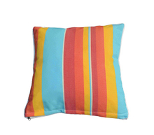 Pillow-1/Colorful Striped Scattered Square Pillow