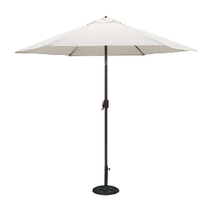 PAU-001-W/Outdoor White Patio Market Umbrella