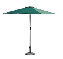 PLU-001-G/Green LED Outdoor Market Umbrella