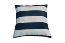 Pillow-7/White Striped Square Throw Pillow