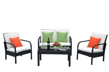 PAS-1308/Detachable Poly Rattan Outdoor Garden Sofa Set