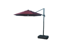 PLU-003-M/Maroon LED Hanging Cantilever Umbrella