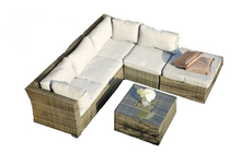 PAS-1402B/4PC New Style Modular Garden Rattan Sofa Set