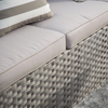 Wide Rattan Series Simple Garden Synthetic Furniture Sofas