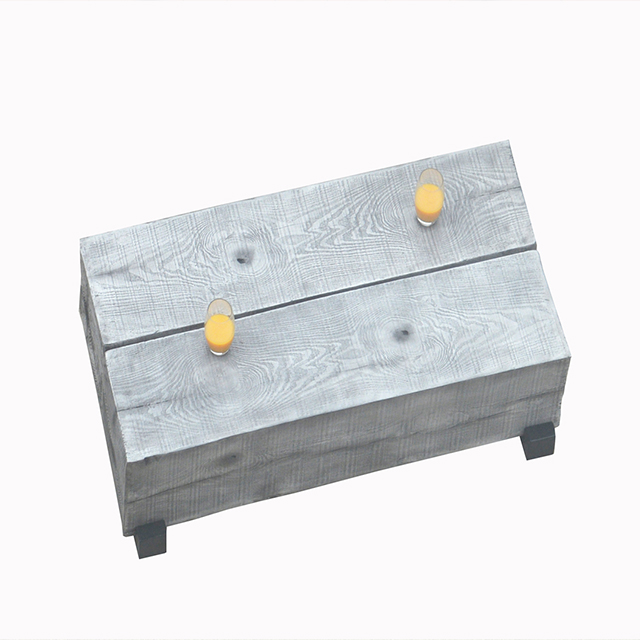 Modern Useful Patio MgO Outdoor Metal Coffee Table
